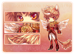 Adopt Auction: Rose Gold Unicorn Prince [Closed]