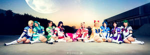Sailor Moon: On moonlit shores by furesiya