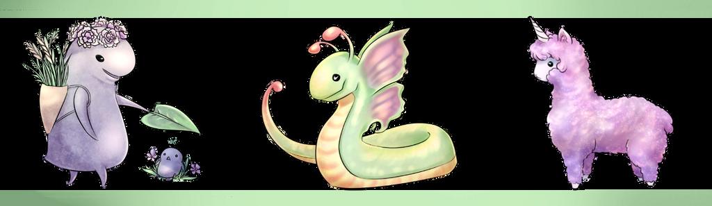Adopt: Cute Monsters2 [open]-flat sale by furesiya