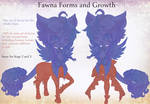 {The Cauldron} Fawna forms and growth req/facts by furesiya