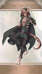 [The Cauldron] Shadow Cat - Stage 3