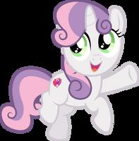 MLP Vector - Sweetie Belle #1 by jhayarr23