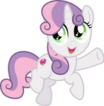 MLP Vector - Sweetie Belle #1