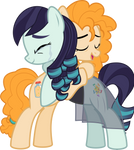 MLP Vector - Pear Butter and Coloratura (AU)