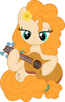 MLP Vector - Pear Butter #4 by jhayarr23