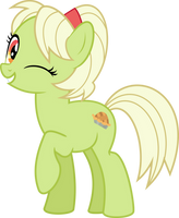 MLP Vector - Granny Smith (Apple Pie) #1 by jhayarr23