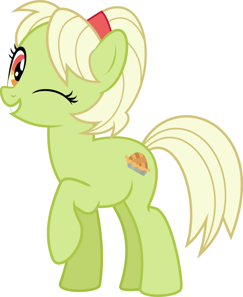 MLP Vector   Granny Smith (Apple Pie) #1 By Jhayarr23 ...
