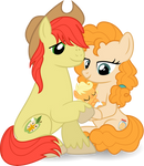 MLP Vector - Applejack's Parents #2