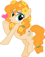 MLP Vector - Pear Butter #6 by jhayarr23