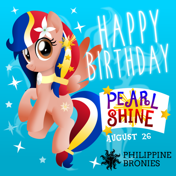 Happy Birthday, Pearl Shine by jhayarr23