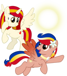 OC Vector - Poniko and Pearl Shine