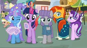 MLP Wallpaper - Distracted Stallionfriend