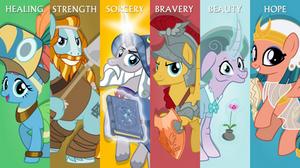 MLP Wallpaper - Legends of Magic
