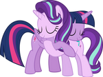 MLP Vector - Twilight and Starlight