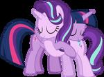 MLP Vector - Twilight and Starlight