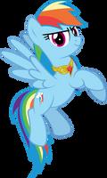 MLP Vector - Rainbow Dash #1 by jhayarr23