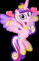 MLP Vector - Princess Mi Amore Cadenza by jhayarr23