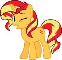 MLP Vector - Sunset Shimmer #3 by jhayarr23