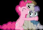 MLP Vector - Pinkie, Mudbriar and Maud Pie