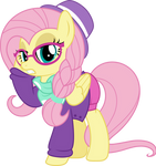 MLP Vector - Fluttershy #8 (Hipstershy)