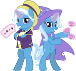 MLP Vector - Jackpot and Trixie