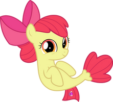 MLP Vector - Applebloom #3 by jhayarr23