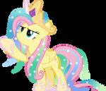 MLP Vector - Fluttershy #11 (Shylestia)
