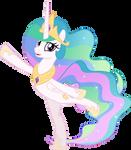 MLP Vector - Princess Celestia