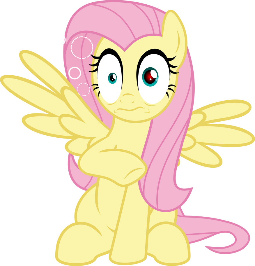 MLP Vector - Fluttershy #13 by jhayarr23