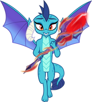 MLP Vector - Ember by jhayarr23
