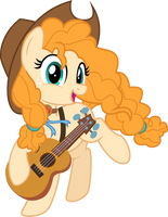MLP Vector - Pear Butter #8 by jhayarr23