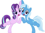 MLP Vector - Starlight and Trixie #2