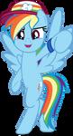 MLP Vector - Rainbow Dash #5