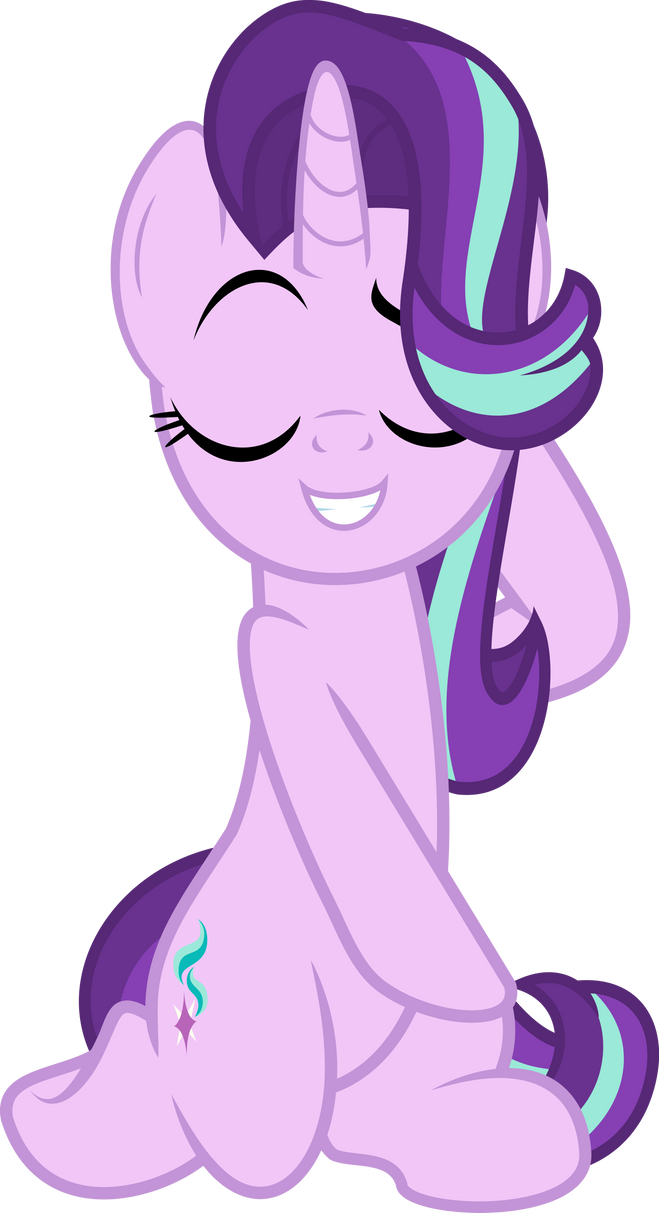 mlp_vector___starlight_glimmer__13_by_jh