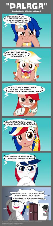 Tagalog Comic: Dalaga