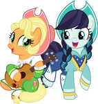 MLP Vector - Apple Chord and Coloratura