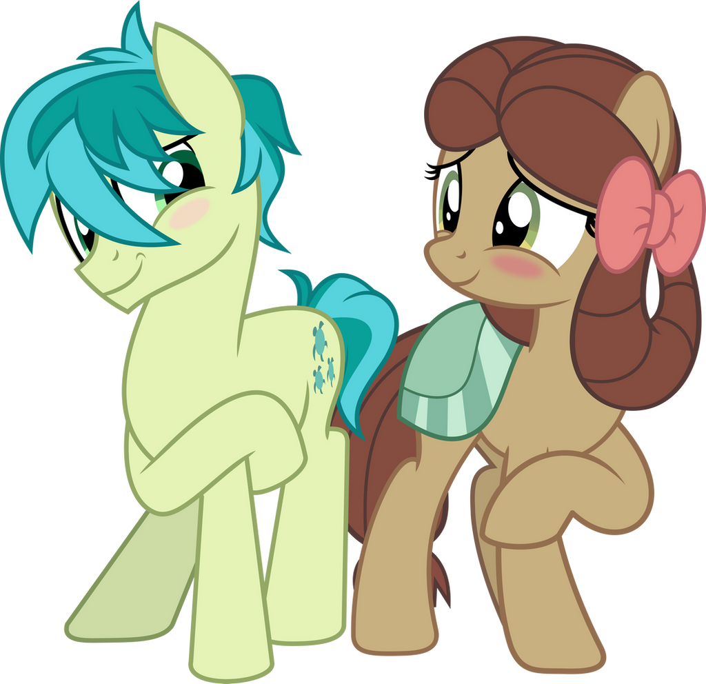 MLP Vector - Sandbar and Yona (The Pony)