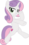 MLP Vector - Older Sweetie Belle