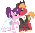 MLP Vector - Big Mac and Sugar Belle #2