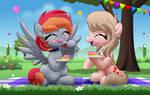 Comm: Arian Blaze and Vital Sparkle