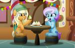 Comm: Enjoying the Cupcakes