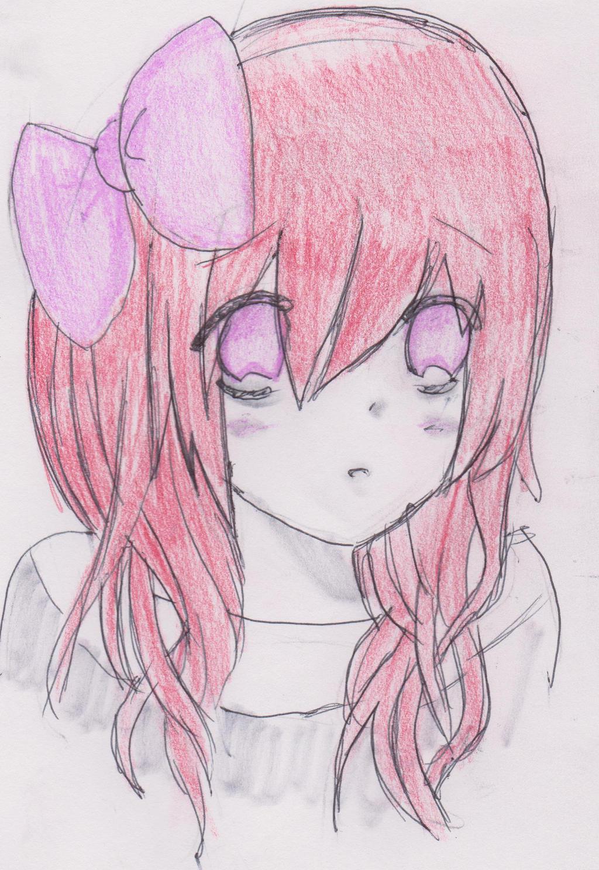 Kawaii Anime Girl By LadyDeathCandy On DeviantArt