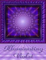 Illuminating Violet Poster by StephenL