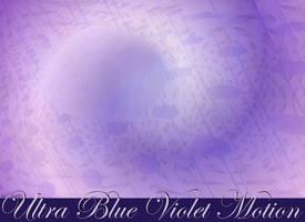 Ultra Blue Violet Motion by StephenL