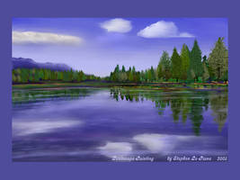 Lanscape Painting Airbrushed M by StephenL
