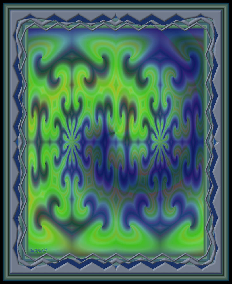 Symmetrical Image with Ramp Gradient Color Transfo by StephenL