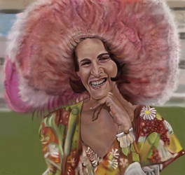 Ruth Buzzi from Rowan and Martin's Laugh In Comedy by StephenL