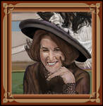3rd Try Ruth Buzzi Custom Framed