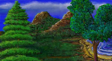 A Crescent Ridge