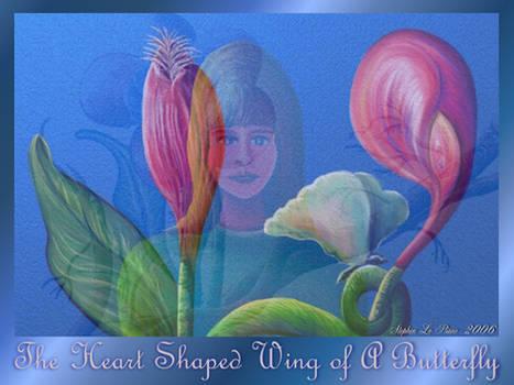 Heart Shaped Wing of Butterfly
